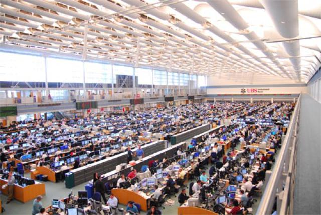 World's largest trading floor on sale